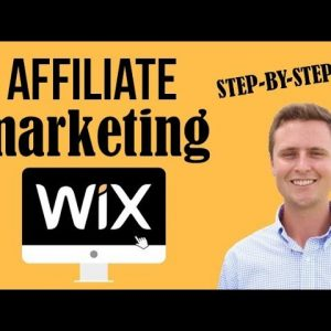 Affiliate Marketing with a WIX Website [Step-by-Step]