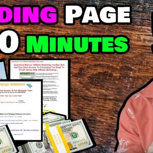 Create A Profitable Landing Page In 30 Minutes - Live!