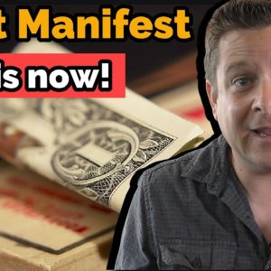 Manifest Money - Law Of Attratcion - Why It's Not Working For You!