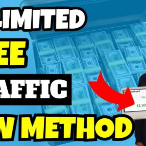 Unlimited FREE Traffic For Affiliate Marketing (SET & FORGET)
