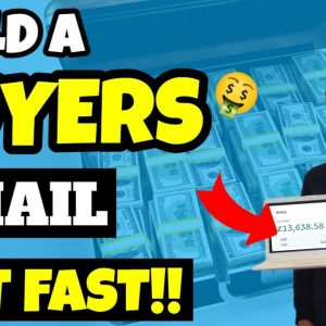 How To Build An Email List Of BUYERS FAST AND FREE