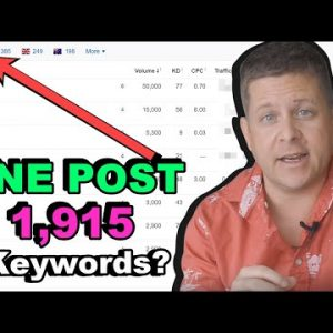 Crazy SEO Hack For Beginners (1,915 Top Rankings With One Post)