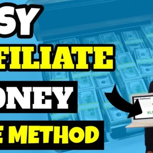 Easy Affiliate Marketing Example [With Proof]