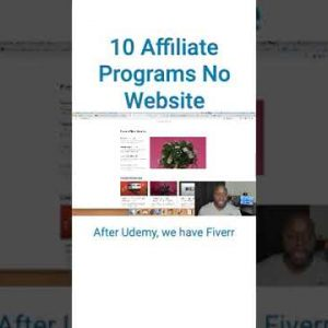 10 Affiliate Programs Without a Website