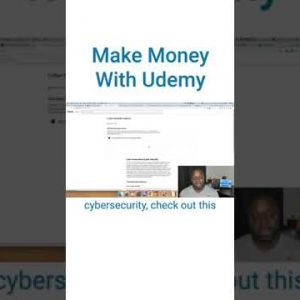 Affiliate Programs Without a Website: Udemy