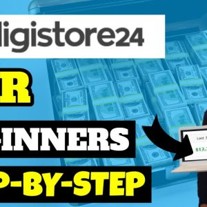Digistore24 Affiliate Marketing For Beginners $400+ Example