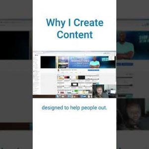 Why I started Creating Content #shorts
