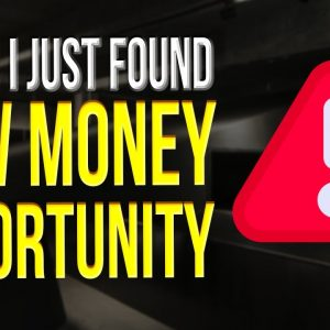 New! Golden Opportunity To Make Money With Affiliate Marketing